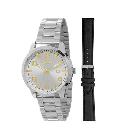 2c1109fc7 Troca Pulseira Relógio Condor Masculino Analógico - CO2115TB/3B CO2115TB/3B  - Prata+
