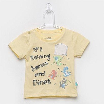 Camiseta Infantil Kiko & Kika Dinossauro Masculina