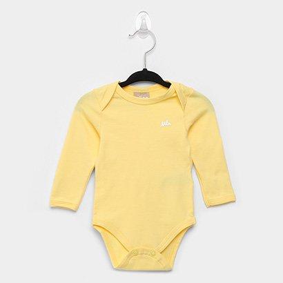 Body Infantil Milon Manga Longa Baby