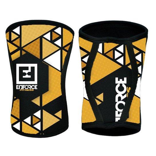 bc9f695f113 Joelheira para Crossfit 7mm Par - Enforce Fitness - Amarelo - Compre ...