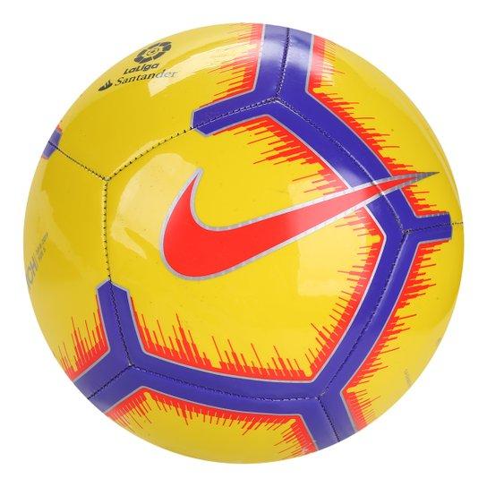 2744501f19ee2 Bola de Futebol Campo Nike La Liga Pitch - Amarelo - Compre Agora ...