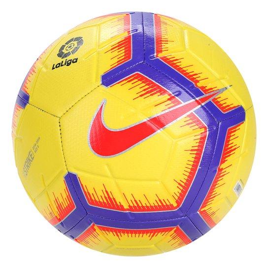 6bd5c7c685 Bola de Futebol Campo Nike La Liga Strike - Amarelo - Compre Agora ...