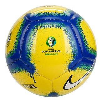 c13d4703089c6 Bola de Futebol Campo Brasil Nike Pich Conmebol Copa América