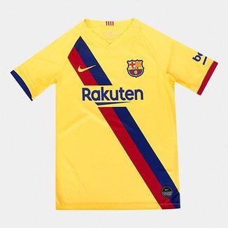 4ea0f8289f Camisa do Barcelona Infantil Away 19/20 s/nº Torcedor Nike