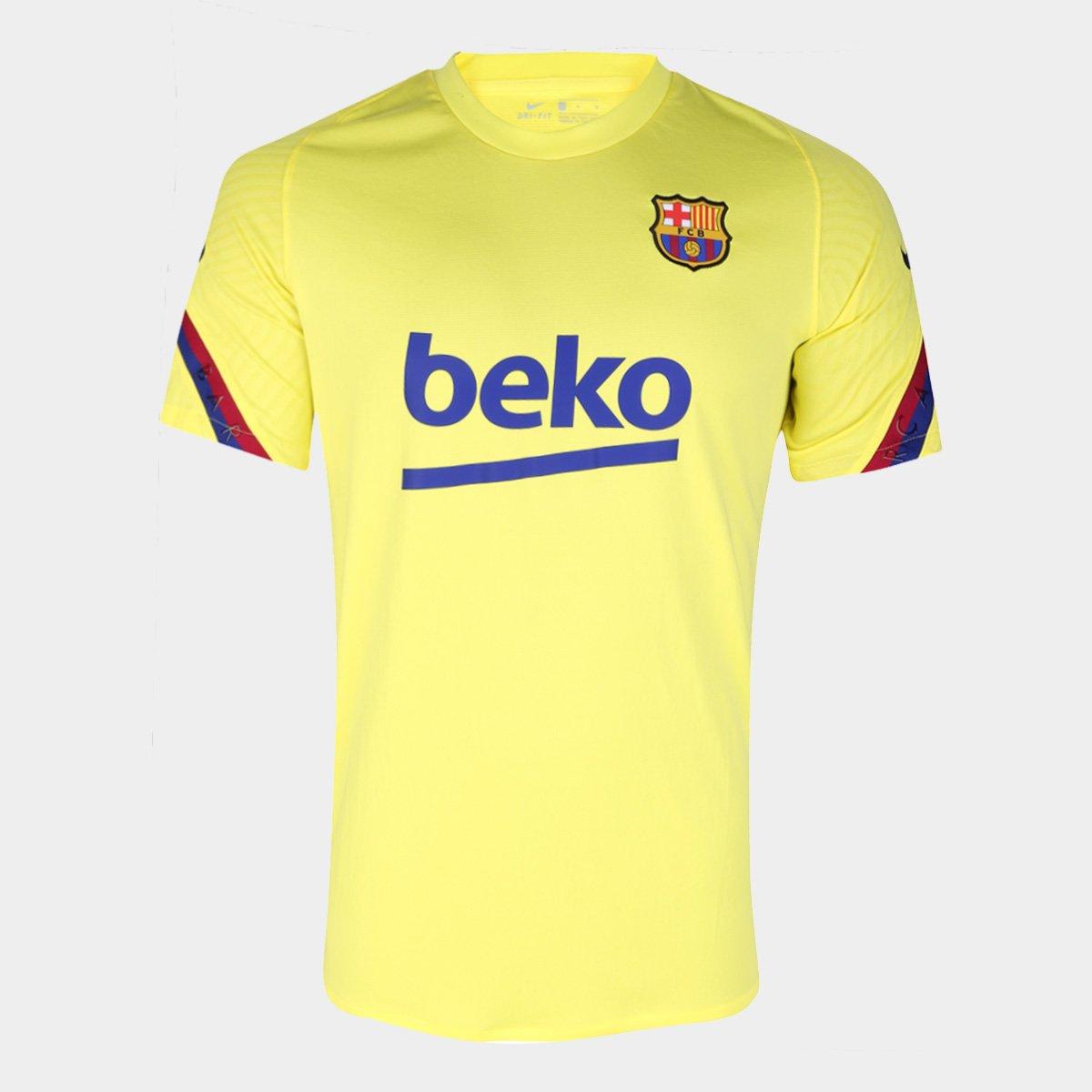 Camisa Barcelona 19/20 Treino Nike Masculina