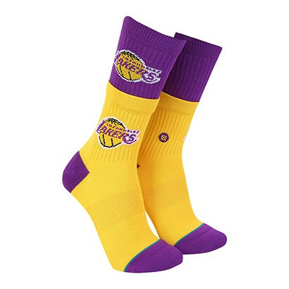 Meia Stance NBA Los Angeles Lakers Arena Collection Double Masculina