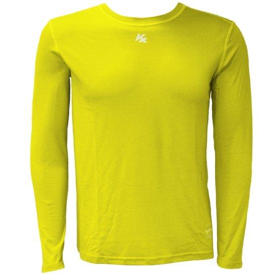 a72aec4fc8 Camisa Térmica Kanxa Com Proteção Solar - Amarelo - Compre Agora ...