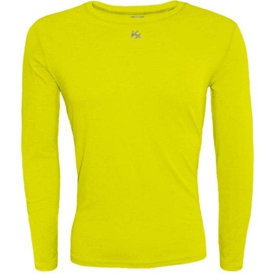 Camisa Térmica Infantil Fator Proteção Solar Uv50 5875 - Amarelo ... 93d1e1fc47bb9