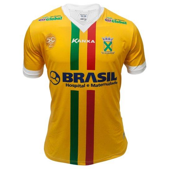 b6a1c27690 Camiseta Futebol Kanxa Santo André 3 Oficial - Compre Agora