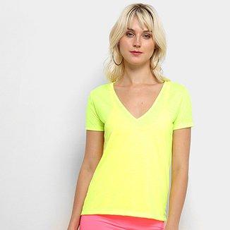903f70af43 Compre Camisa Feminina Gola V Online