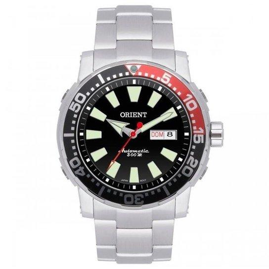 0e6acca0d6a Relógio Orient Automático Troca Pulseiras Poseidon Scuba Diver 469SS039  PVSX - Prata+Preto