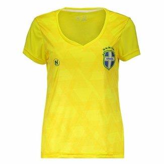 Baby Look Numer Brasil Transfer Feminina 7bd7882246b24