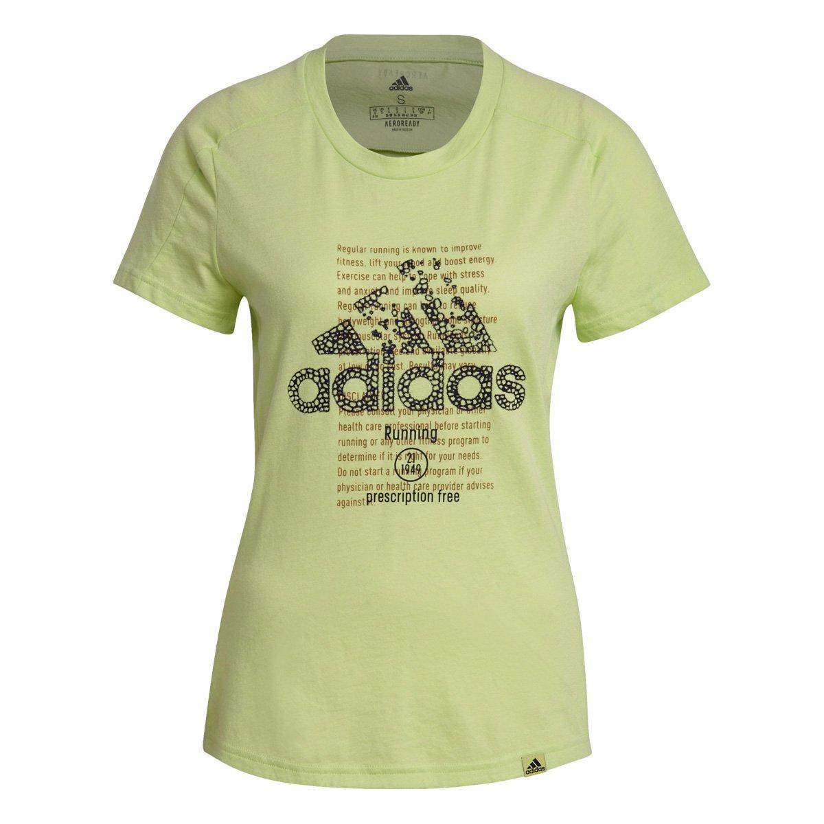 Camiseta Adidas Biochemistry Feminina