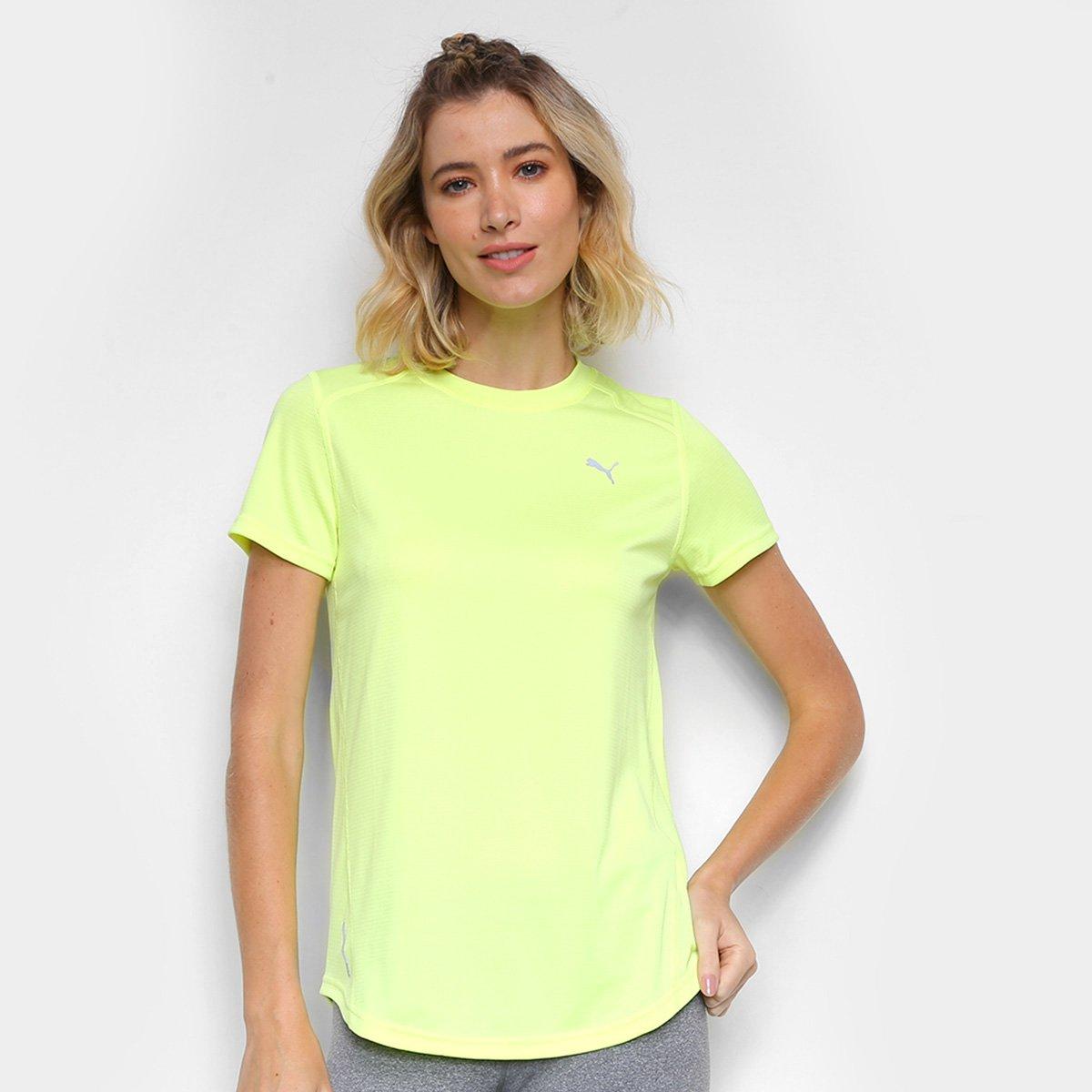 Camiseta Puma Ignite Neon Feminina