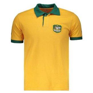 Camisa Wallabies Rugby Retrô Masculina 2642521a15180