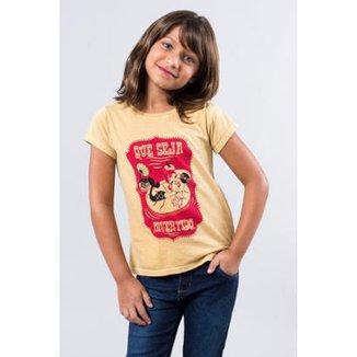 d3a5af5b28 Camiseta Infantil Iara Reserva Mini Feminina