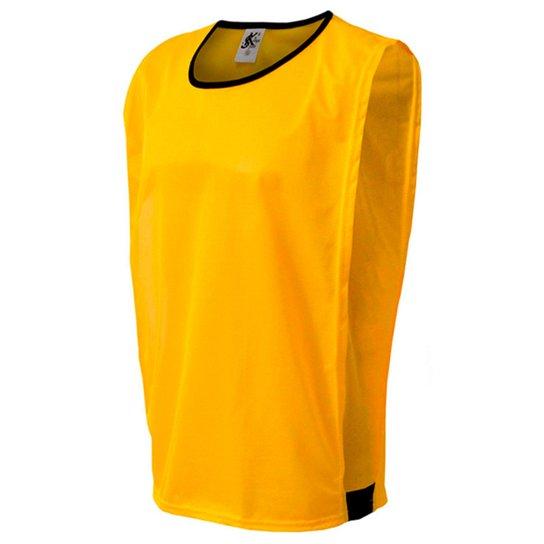 6e132609ed4f16 Colete de Futebol Kanga Sport - Amarelo | Netshoes