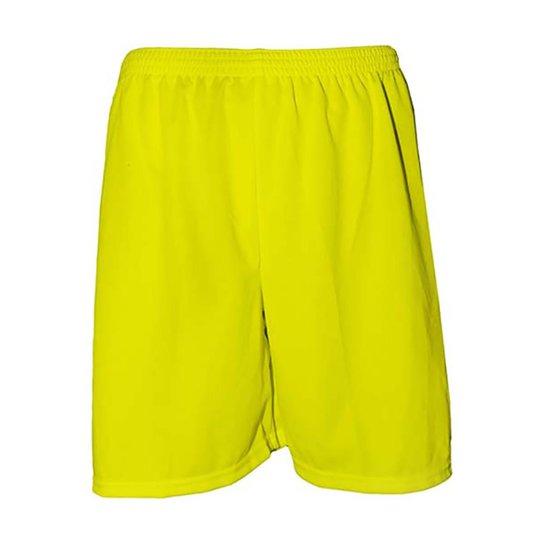 Calção Futebol Kanga Sports Masculino - Amarelo - Compre Agora ... 67c7f2b495f21