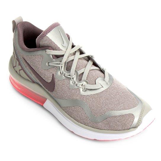 Tênis Nike Air Max Fury Feminino - Off white e Coral - Compre Agora ... 2f4e901822ac3