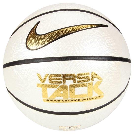 Bola Nike Versa Tack 7 - Branco+dourado 2f94203071a6e