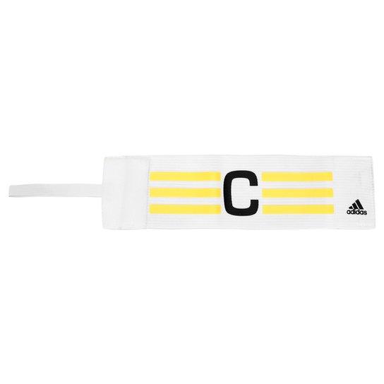53dc65c0ea8db Faixa de Capitão Adidas - Branco+dourado