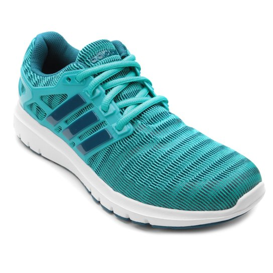 Tênis Adidas Energy Cloud Feminino - Azul Claro e Branco - Compre ... 50b334a28d2a7