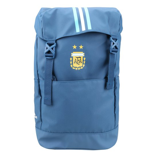 60a7a8bb9 Mochila Adidas Argentina - Azul Claro e Branco   Netshoes