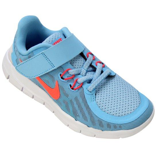 706a3232182 Tênis Nike Free 5.0 Infantil - Azul Claro+Branco ...