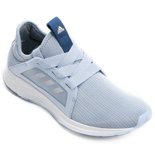 0fea43de7 Tênis Adidas Edge Luxe Feminino - Azul Claro+Branco