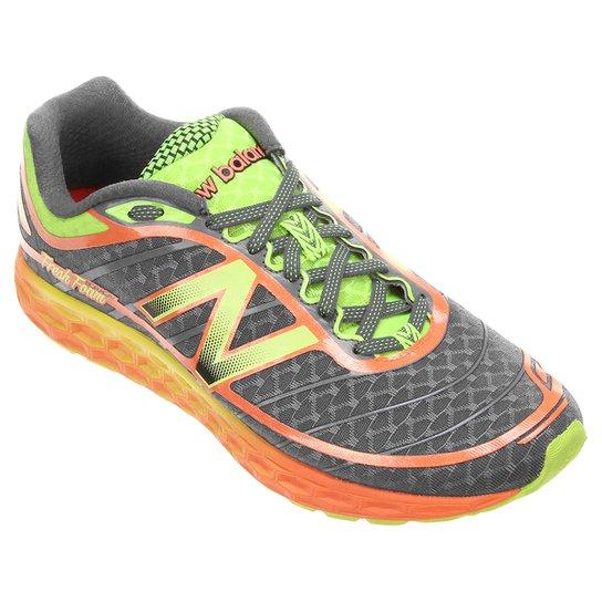 Tênis New Balance 980 V2 Masculino - Cinza+Verde Limão a8abd5275ee94