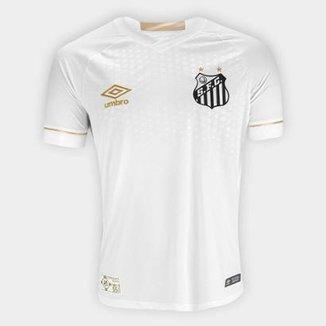 3eecb1a33e Camisa Santos I 2018 s n° Torcedor Umbro Masculina