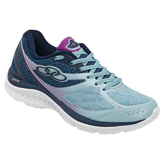 8573e63a76b Tênis Olympikus Like Feminino - Azul Claro e Marinho - Compre Agora ...