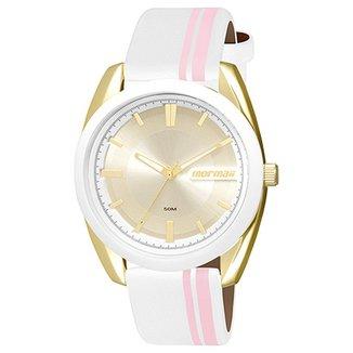 354f92eaae7 Relógio Mormaii Analógico MO2039AG-8K Feminino