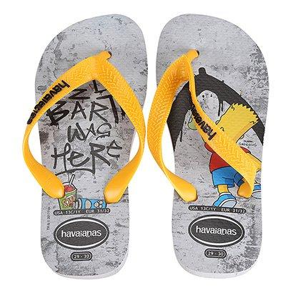Sandália Infantil Havaianas Simpsons