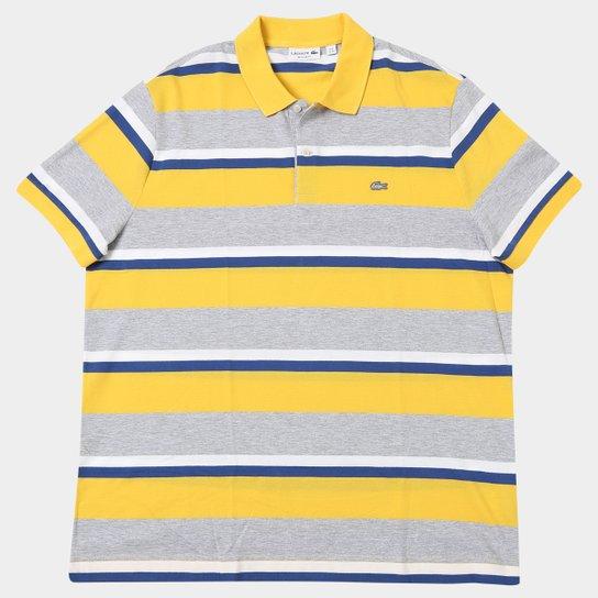 471008731a5 Camisa Polo Lacoste Piquet Listrada - Compre Agora