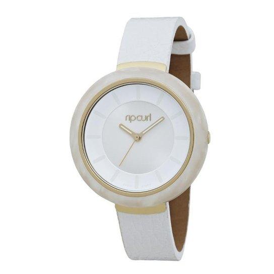 b704fd900d1 Relógio De Pulso Ripcurl Mist Acetate - Branco e dourado - Compre ...