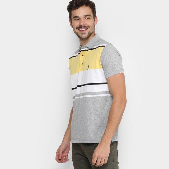 Camisa Polo Aleatory Listrada Masculina - Compre Agora  76aa1e28d9129