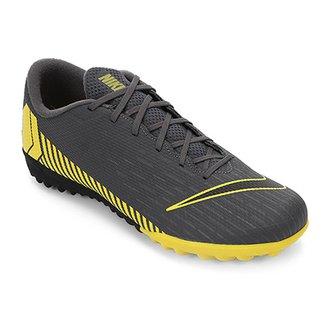 a04760e638801 Chuteira Society Nike Mercurial Vapor 12 Academy TF