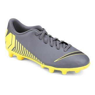 1da09405da Chuteira Campo Infantil Nike Mercurial Vapor 12 Club GS FG