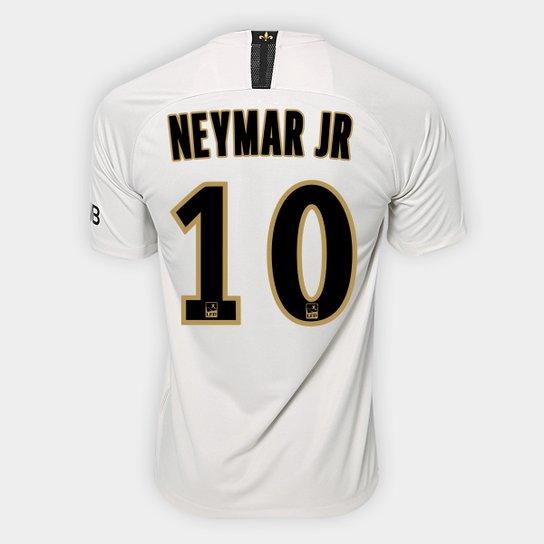 897dbca4a0 Camisa Paris Saint-Germain Away 2018 Nº 10 Neymar Jr - Torcedor Nike  Masculina -