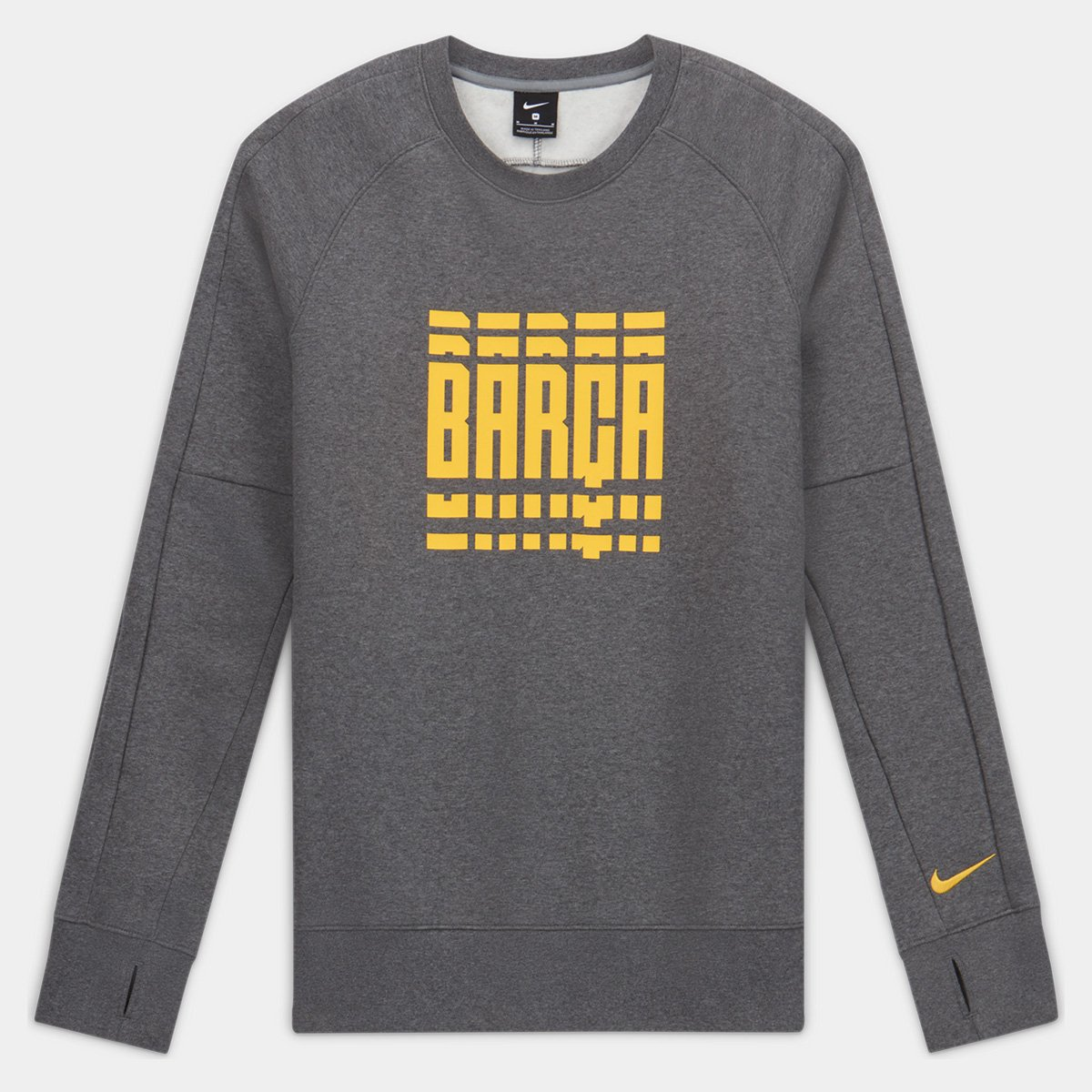Moletom Barcelona Nike GFA Masculino