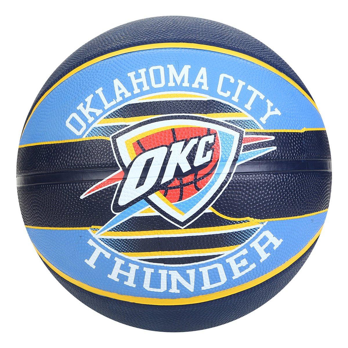 Bola de Basquete Spalding NBA Oklahoma City Thunder - Tam: 7