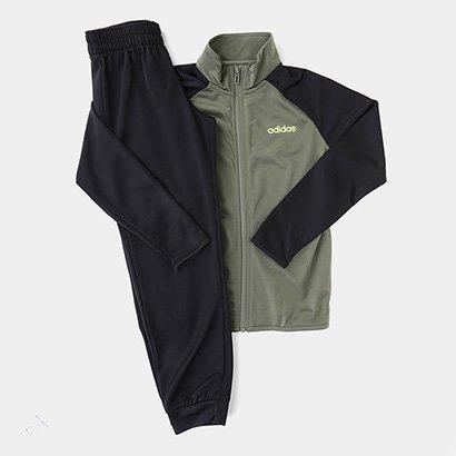 Conjunto Infantil Adidas Yb Ts Entry Masculino