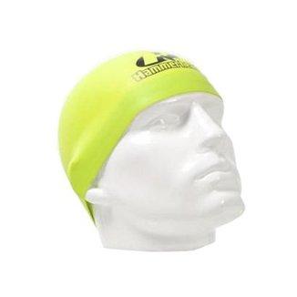 d58c7b489 Touca de silicone Hammerhead Record Breaker   Verde-Limão   P