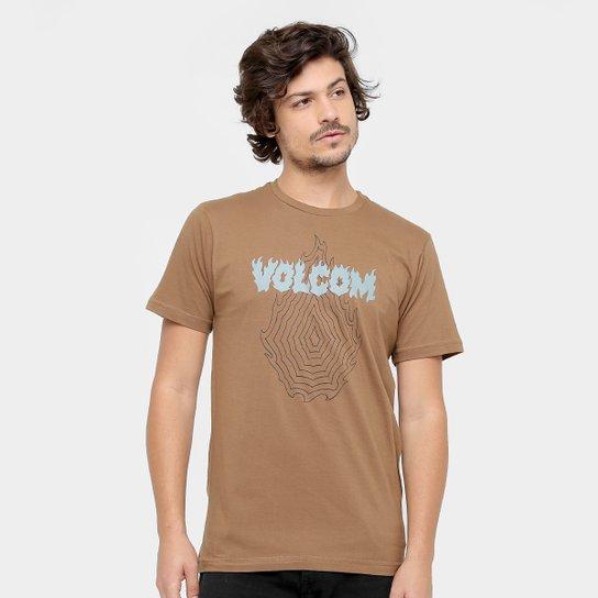 0cc20fa4a7 Camiseta Volcom Silk Slim Hesh Masculina - Compre Agora