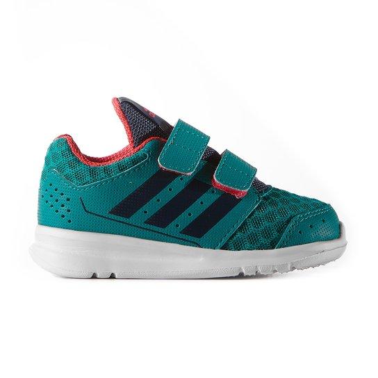 8780448c00e Tênis Casual Adidas Lk Sport 2 Cf Text Infantil - Azul Turquesa+Preto