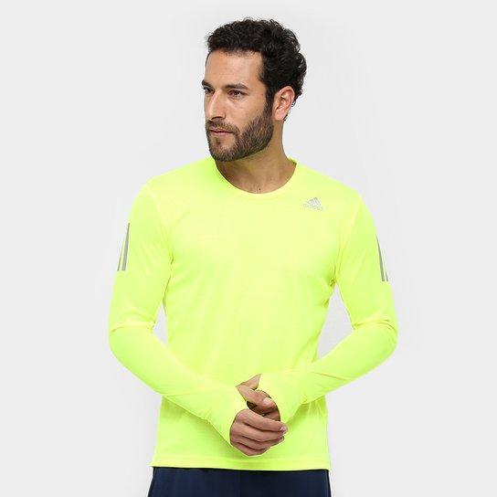 Camiseta Adidas Response Manga Longa Masculina - Compre Agora  72d50177e0c7e
