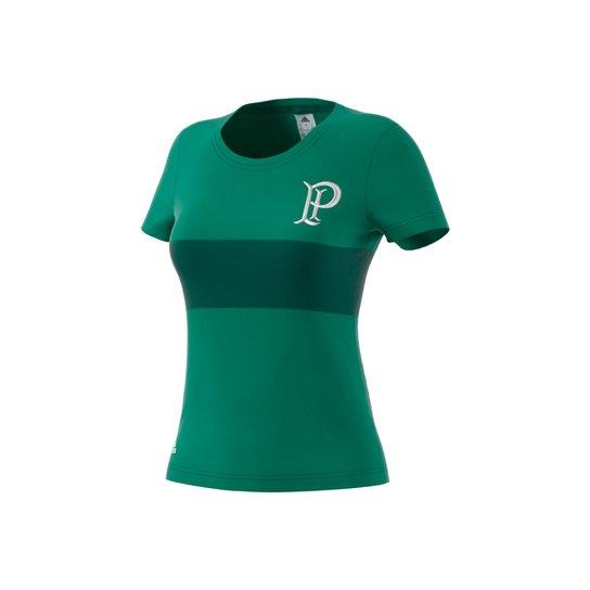 Camiseta Futebol Adidas Especial Palmeiras Feminina - Azul Turquesa+Preto 85b8ff272c221