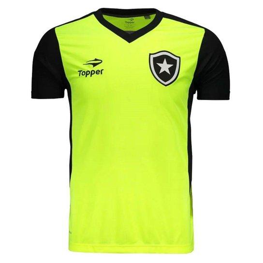 Camisa Topper Botafogo Treino Masculina - Compre Agora  88bb3a8cde8