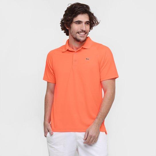 3dbd1e90b1 Camisa Polo Lacoste Lisa - Laranja - Compre Agora